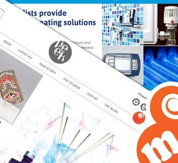web design, html emails, newsletters, social media, blogs