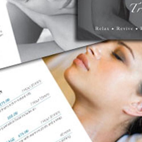 Brochure design for Beauty Salon