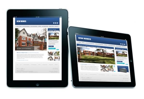 Web design for property developer