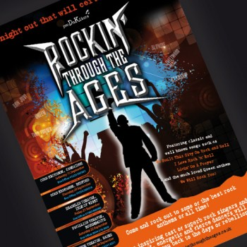 Theatre Programmes, leaflets, advertising, poster design