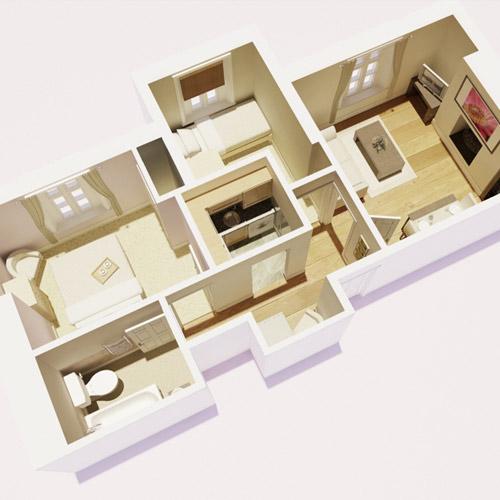CGI 3D floorplan