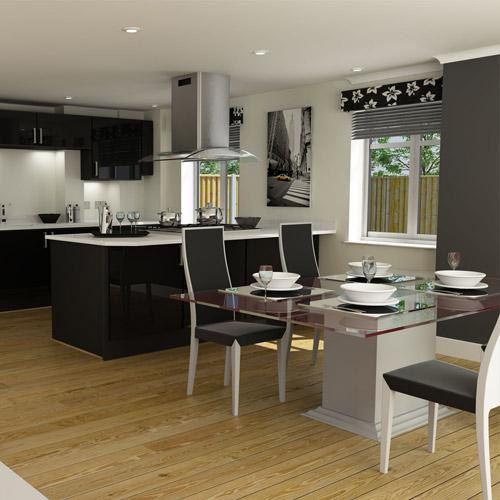 CGI – Property interior, living room