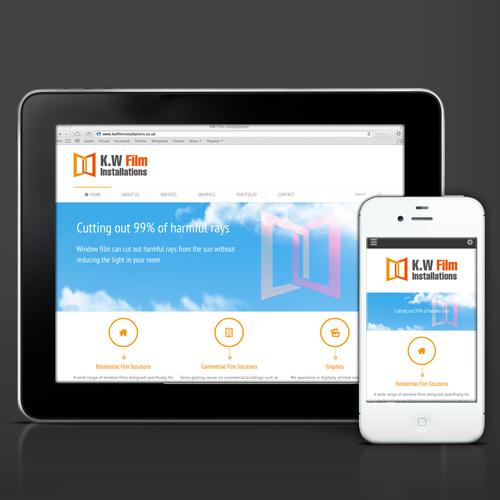 Responsive website design and build