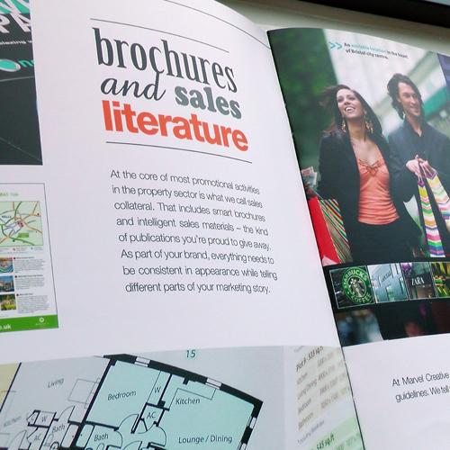 Brochures and sales literature