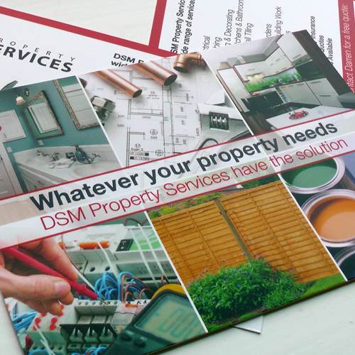 DSM Property Services Postcard