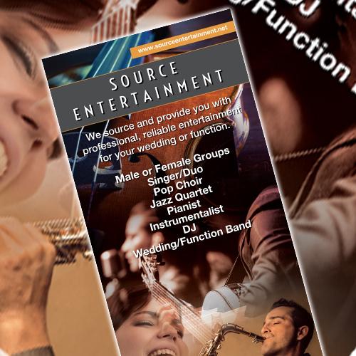 Source Entertainment roller banner