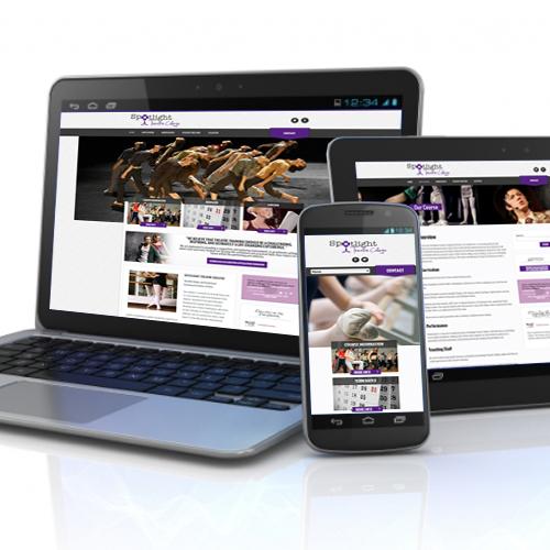 Spotlight Theatre College website
