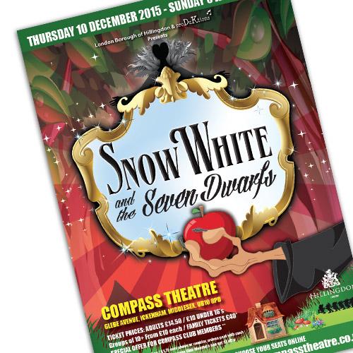 Theatre Advertising – Snow White